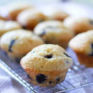 Blueberry Muffins – Lightened Up!
