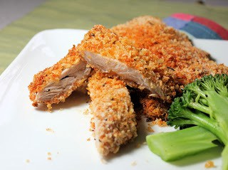 Perfect Crispy Oven Fried Chicken!