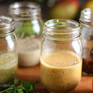 4 Healthy Vinaigrettes!