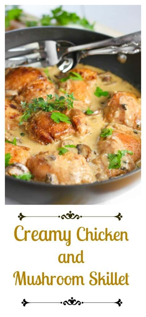 Creamy Chicken Skillet5