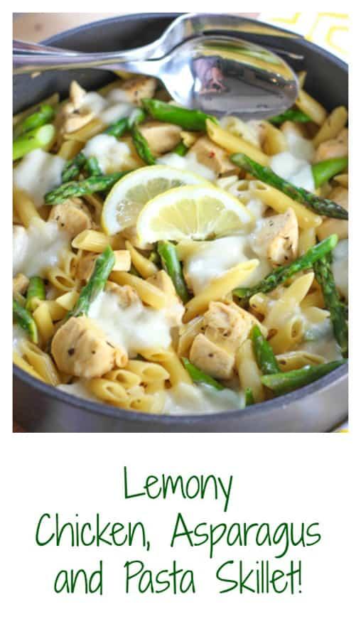 One Pot Lemon, Chicken Skillet3