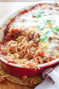 Baked Spaghettifg