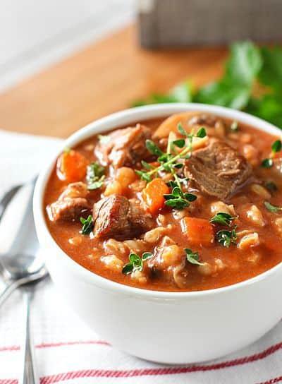 Beef Barley Soup1