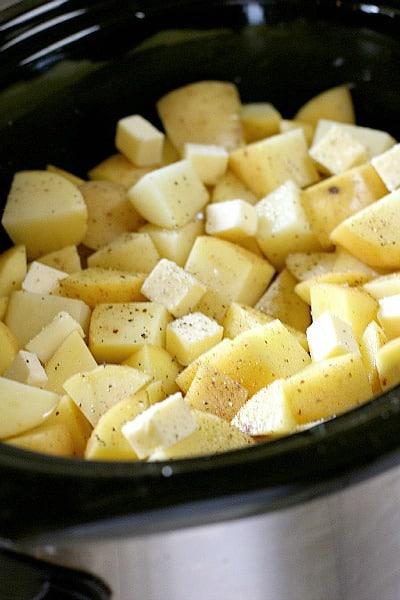 Potatoes in Slow Cooker