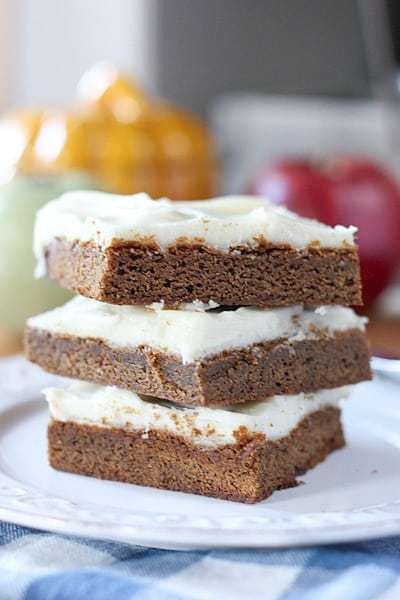 Gingerbread bars1