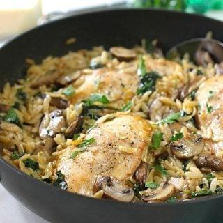Chicken, Mushroom OrzoFinal2