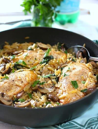 Chicken, Mushroom Orzofinal