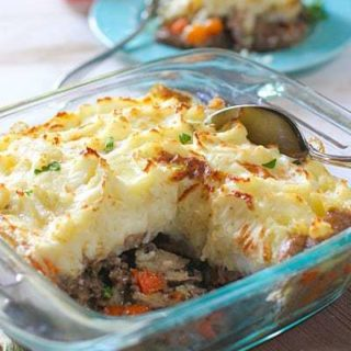 Hearty Beef and Mushroom Shepherds Pie