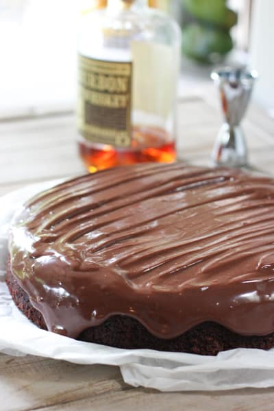 Chocolate Whiskey Cake 3