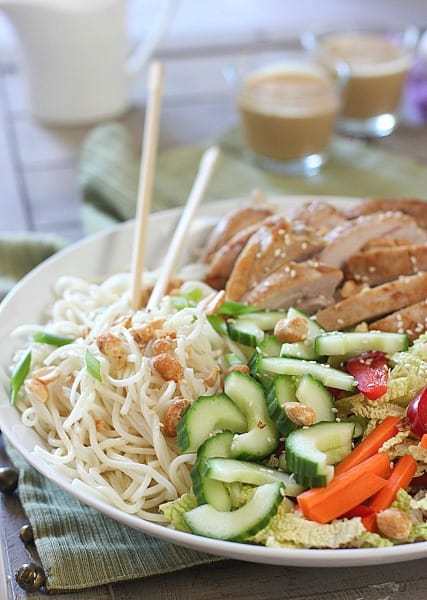 Thai Chicken and Noodle Salad1