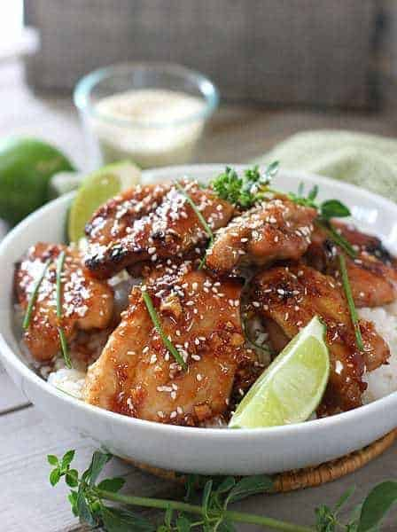 Sticky Chicken1