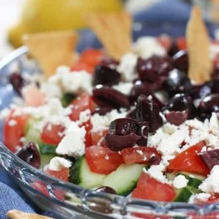 Easy Layered Greek Dip