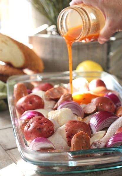 Chicken Sausage Bake2a