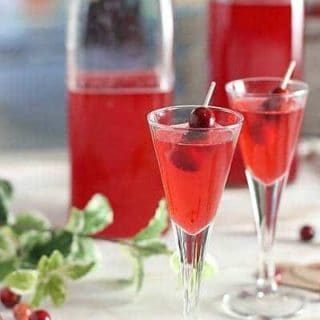 Overnight Cranberry Crush Vodka