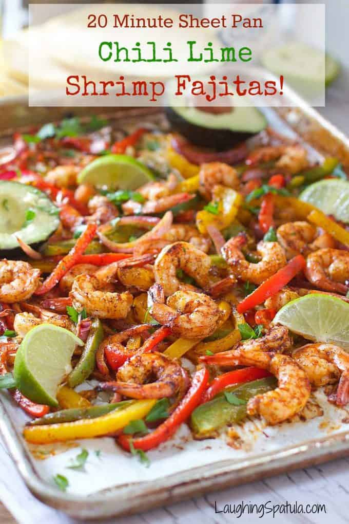 how to cook shrimp fajitas