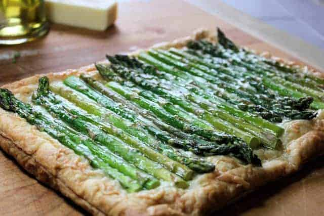 Asparagus and Gruyere Tart  Laughing Spatula