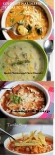 Top Fab 4 Fall Soups!