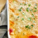Baked Ziti with Sausage and Béchamel