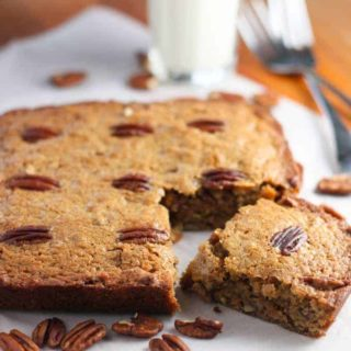 Pecan Pie Snack Cake