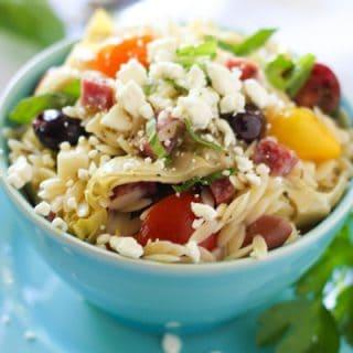 Mediterranean Orzo Pasta Salad