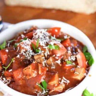 Easy Italian Chicken Stew
