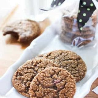 Perfect Molasses Crinkle Cookies!