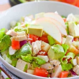 Chicken Avocado and Apple Salad