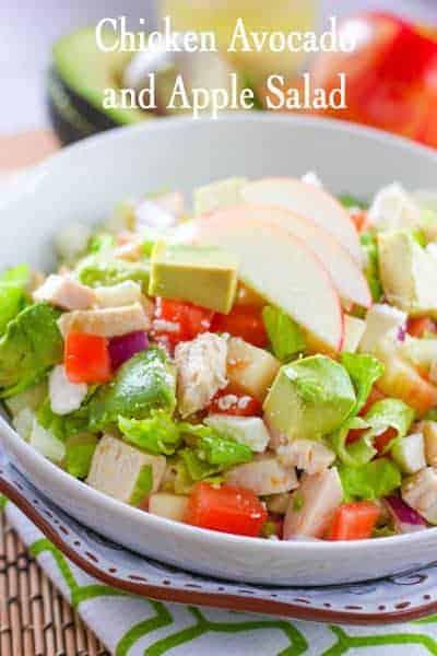 Chicken Avocado Apple Salad3