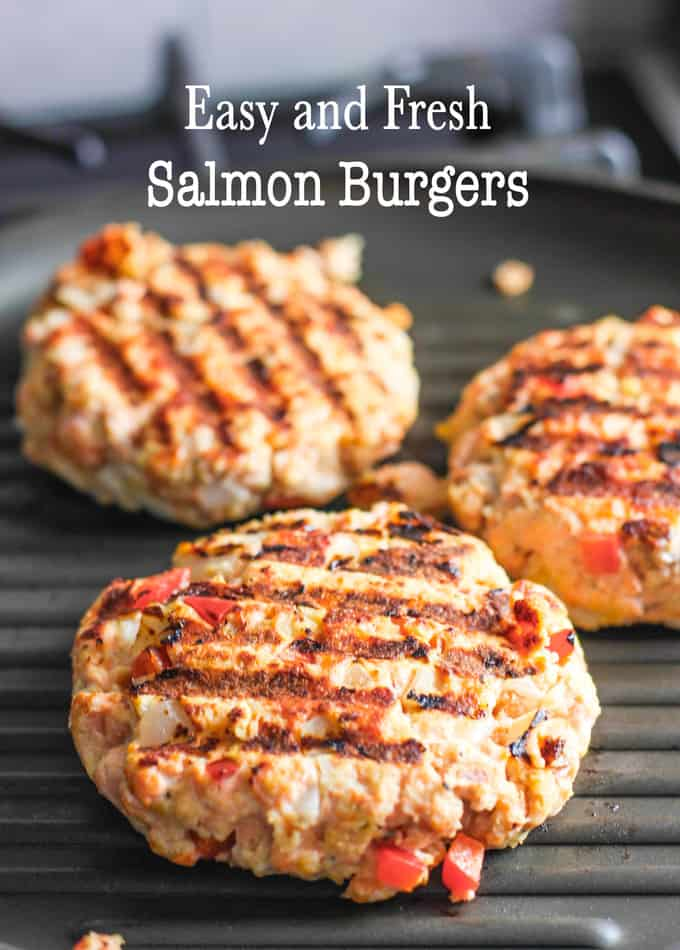 Salmon Burgers 2