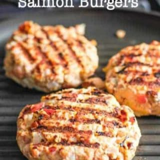 Fresh and Easy Salmon Burgers