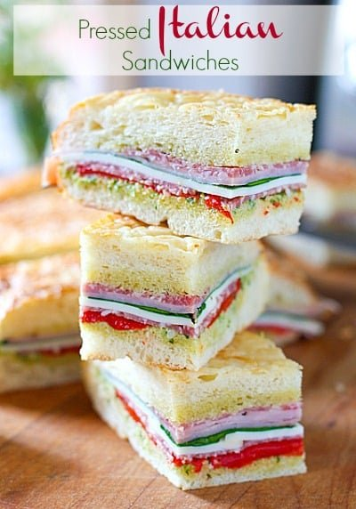 Focaccia sandwich recipes easy
