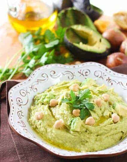 Avocado Hummus10