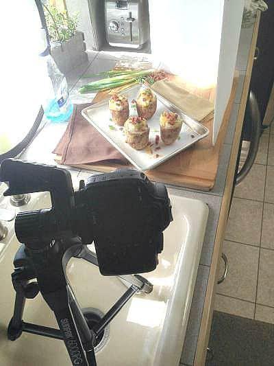 Twice Baked Potato Cups