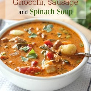 Gnocchi Sausage and Spinach Soup