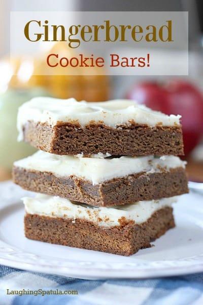 Gingerbread bars5