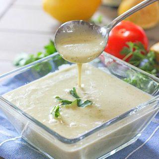 3 Minute Lemon Dijon Vinaigrette