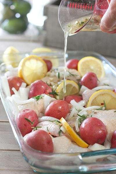Lemon Rosemary Chicken 1
