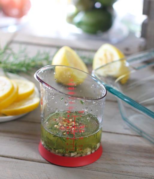 Lemon Rosemary Chicken Marinade