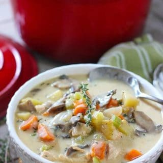 30 Minute Creamy Chicken Chowder