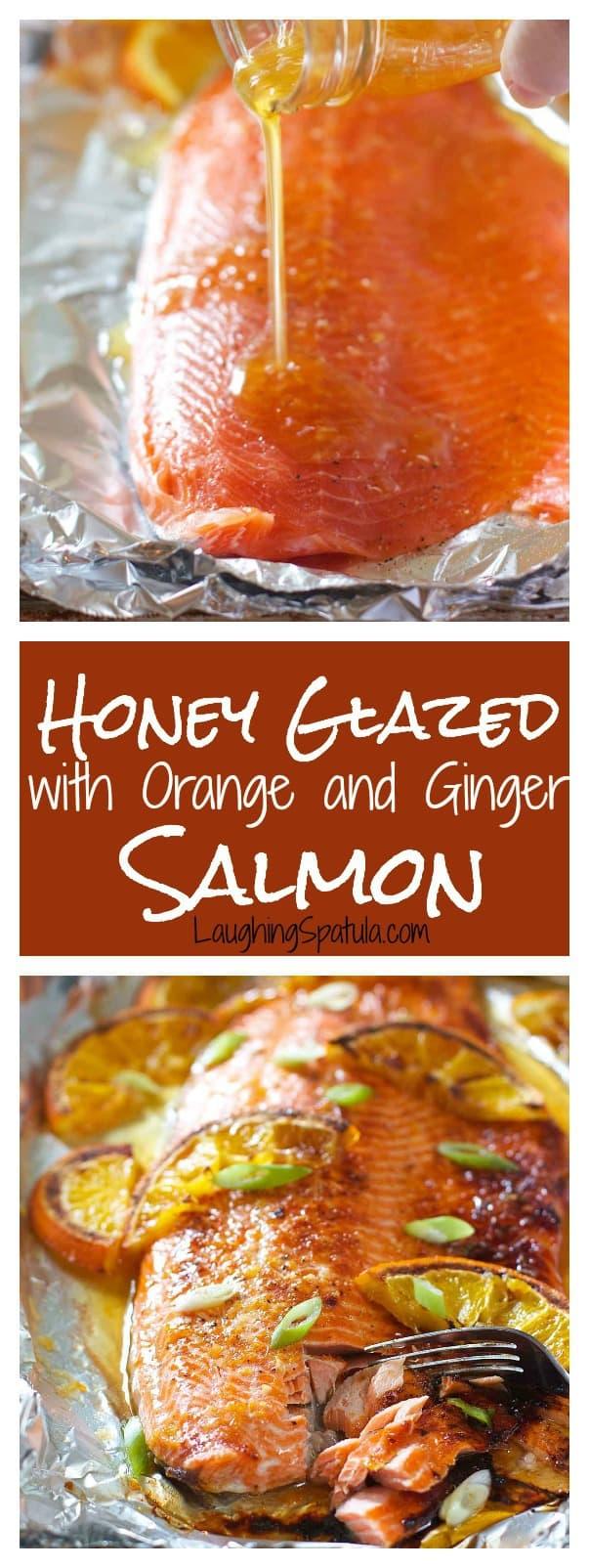 Honey Glazed Salmon With Orange And Ginger Laughing Spatula