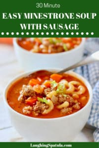 Minestrone Sausage Soup