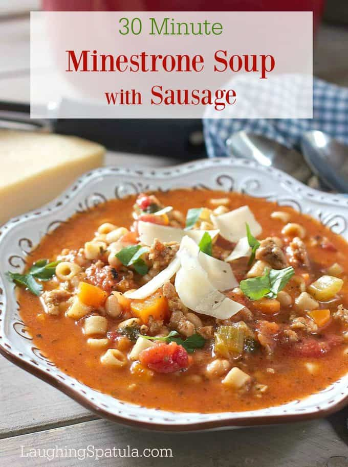 Minestrone Soup Calories