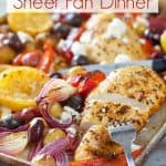 Greek Chicken Sheet Pan