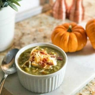 Slow Cooker Healthy Split Pea Soup