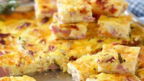 Sheet Pan Quiche Bites