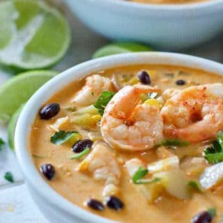 Mexican Shrimp and Corn Chowder