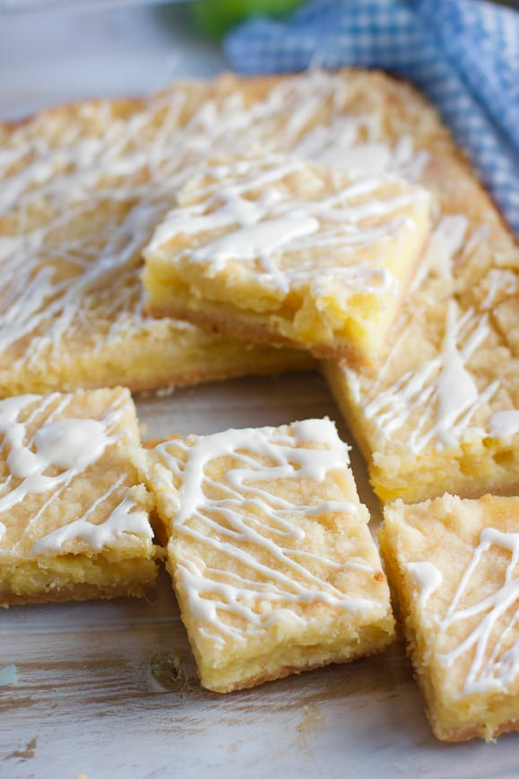 Easy to make Pineapple Bars come together with just a few ingredients and pack a big flavor!