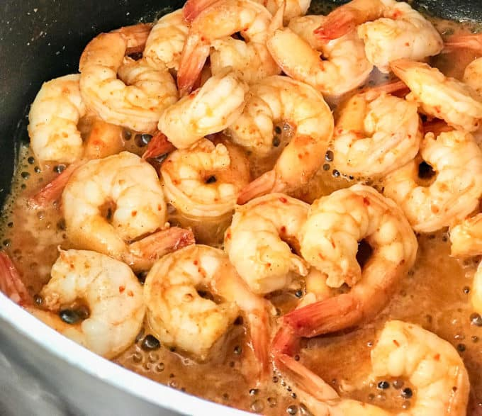 how to make shrimp broth from fresh shrimp