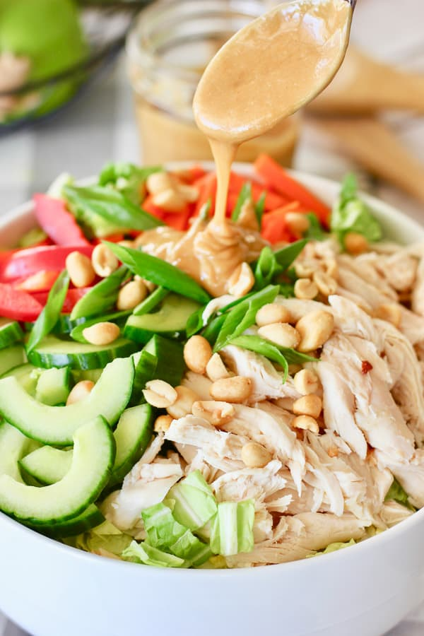 Crunch Thai Peanut Salad