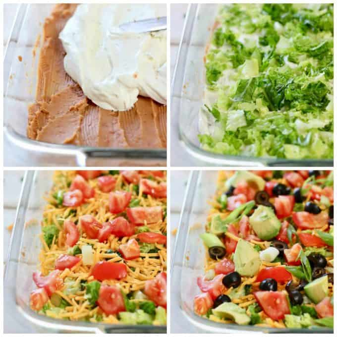How to make Skinny Taco Dip